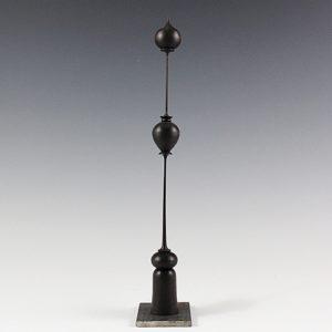 Sculpture tournée sur bois – Trembleurs en Ébène