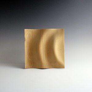 Sculpture bois Wave en Frêne
