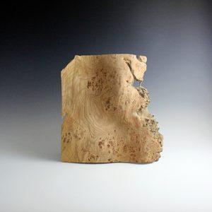 Sculpture bois Wave en Loup d'Orme