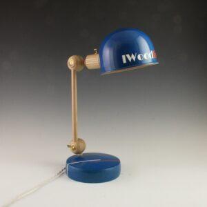 Lampe articulée en bois One Color Blue